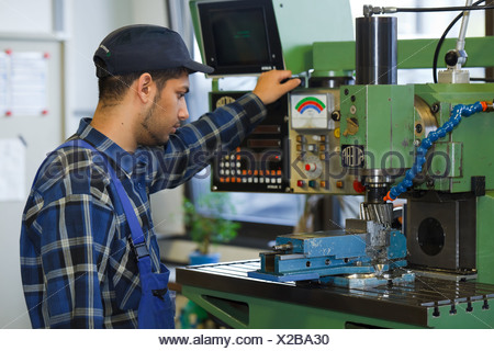 Berlin, Germany, industrial mechanic apprentice training center in