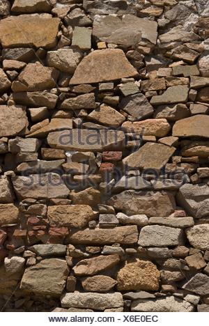 Stones wall wall textures Sardinia Italy structure break stone wall