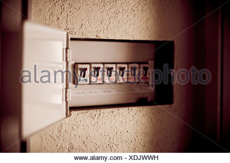 Fuse box, close-up Stock Photo 278470033 - Alamy
