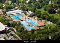 Antenne-anzeigen, Grugabad Essen, Pool, Denkmal, Essen ...