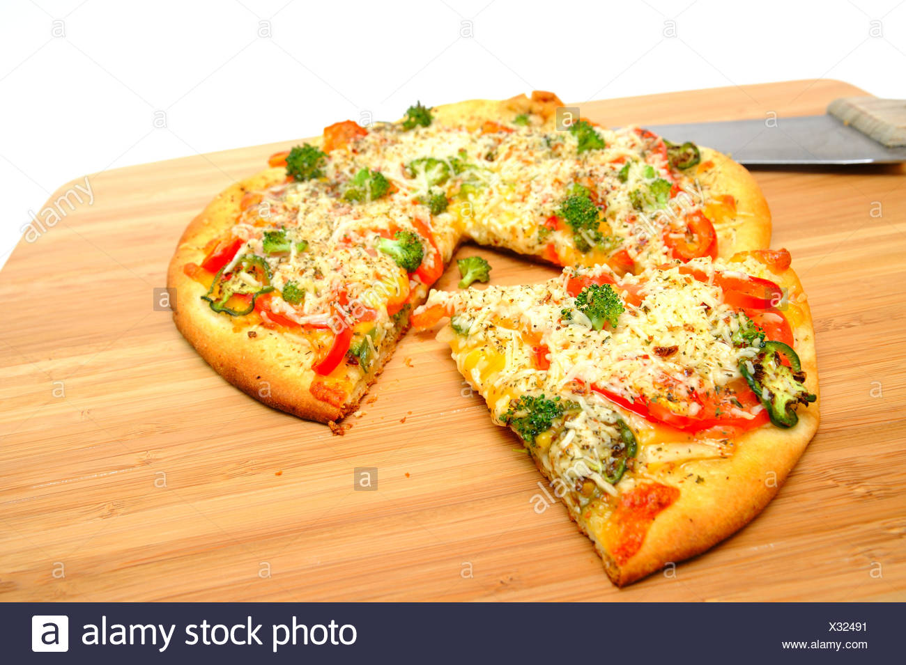 Vegetarische Pizza Gourmet Vegetarische Pizza Stockfoto Bild 277257149 Alamy