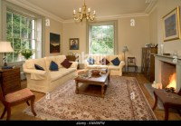 English Country Style Living Room Stock Photos & English ...