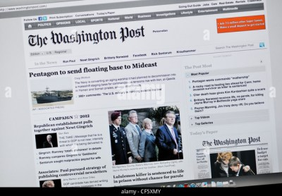 Washington Post Newspaper Stock Photos & Washington Post Newspaper Stock Images - Alamy