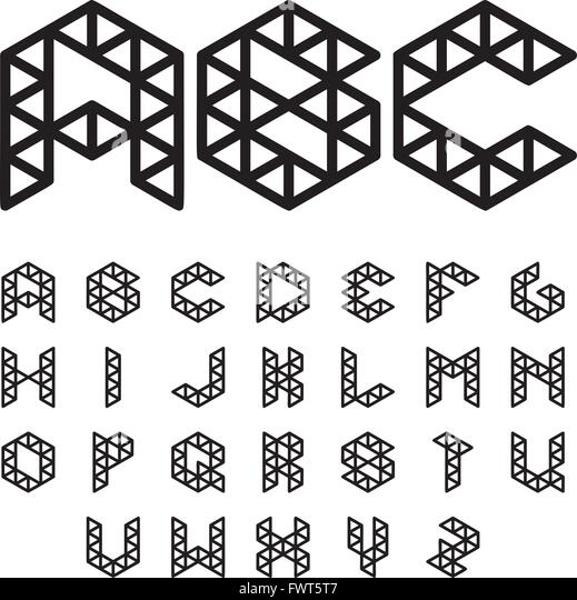 polygonal-font-abc-alphabet-fwt5t7jpg (519×540) Hologram Screen - resume update