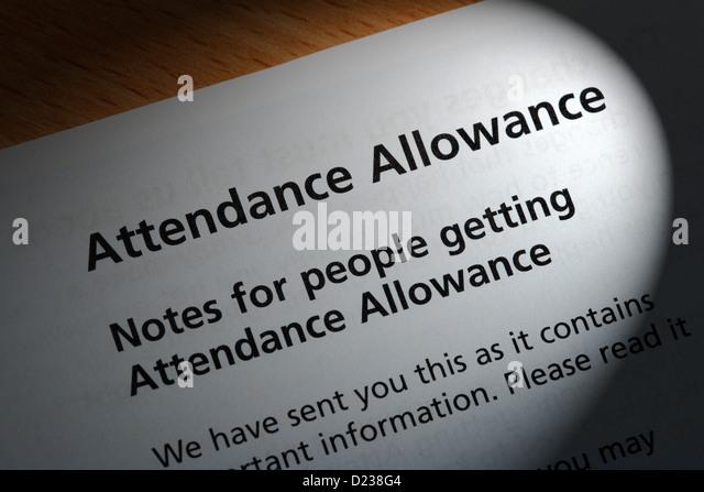 Attendance Allowance Form Focus On Disability Attendance Allowance