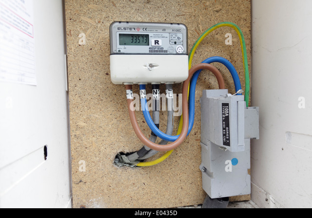 Wiring Electric Meter - Wiring Diagram NL