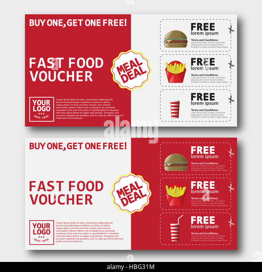 Voucher And Food Stock Photos \ Voucher And Food Stock Images - Alamy - food voucher template