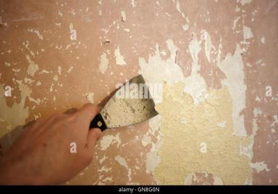 Stripping Wallpaper Stock Photos & Stripping Wallpaper Stock Images - Alamy