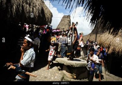 Indonesia Rural Sumba Village Stock Photos & Indonesia ...
