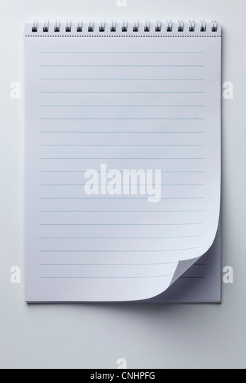 Lined Paper Stock Photos \ Lined Paper Stock Images - Alamy - lined page
