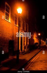 Victorian Street Lamp Night Stock Photos & Victorian ...
