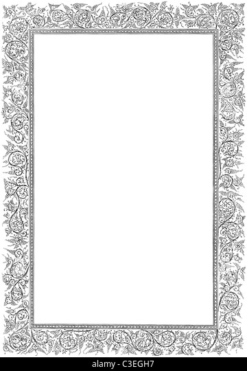 Pin Swirly Page Border Images to Pinterest