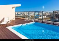 Roof Swimming Pool Stock Photos & Roof Swimming Pool Stock ...