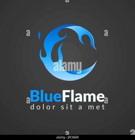 Fire Flame Logo Template Vector Icon Oil Stock Photos  Fire Flame - flame logo