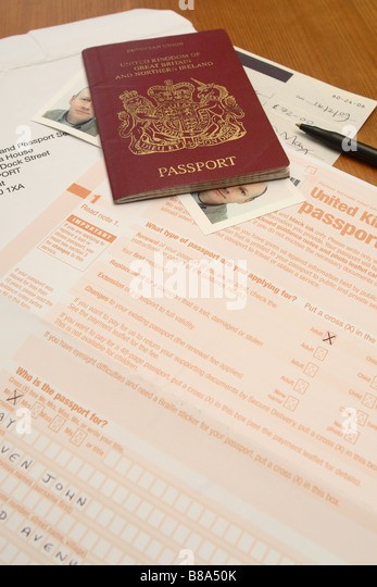 Passport Application Form Passport Application Form For Minors - passport consent forms