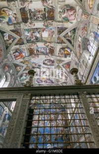 Sistine Chapel Michelangelo Ceiling Stock Photos & Sistine ...