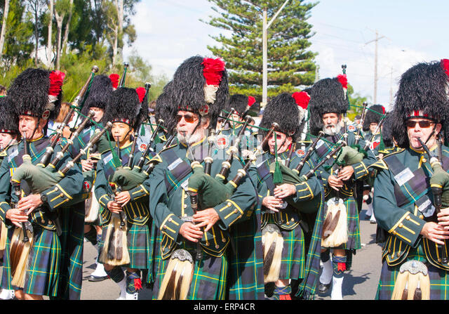 Bagpipe Band Stock Photos Bagpipe Band Stock Images Alamy