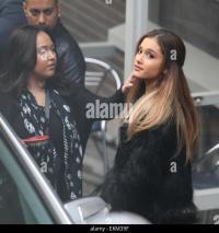 Ariana Grande Outside Itv Studios Stock Photos & Ariana ...