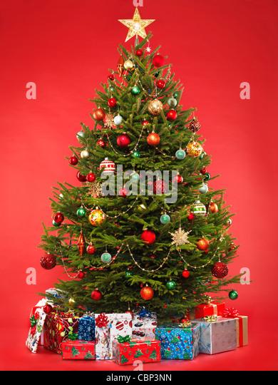 Christmas Tree Stock Photos \ Christmas Tree Stock Images - Alamy - beautiful decorated christmas trees