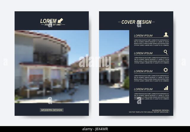 Company Brochure Template In Minimal Stock Photos  Company Brochure - Company Brochure Templates