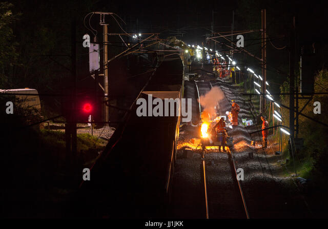 Thermit Welding Stock Photos  Thermit Welding Stock Images - Alamy - thermite welding