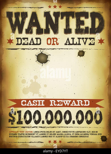 Wanted Poster Template Wanted Poster Template Pdf Wanted Poster