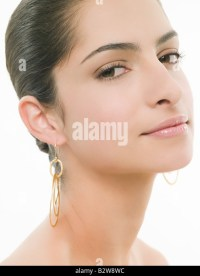 Gold Earrings Stock Photos & Gold Earrings Stock Images