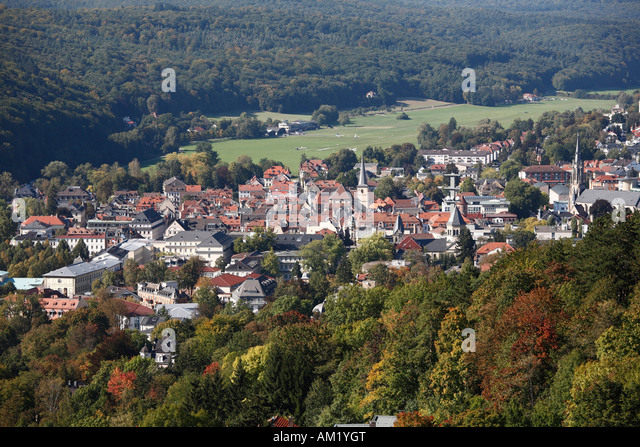 Bad Kissingen Rhoen Franconia Germany Stock Photos \ Bad Kissingen - bad kissingen
