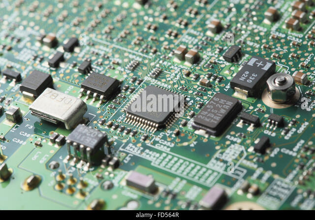 Motherboard Components Stock Photos  Motherboard Components Stock