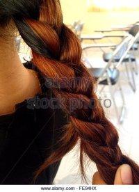 Braiding Hair Women Stock Photos & Braiding Hair Women ...