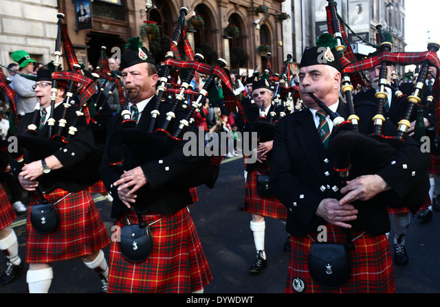 Bagpipes Parade At Stock Photos Bagpipes Parade At Stock