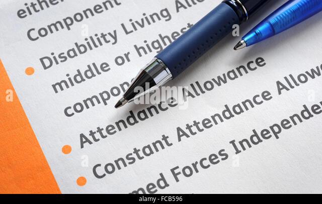 Attendance Allowance Stock Photos \ Attendance Allowance Stock - attendance allowance form