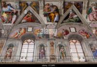 Sistine Chapel Ceiling Wall Stock Photos & Sistine Chapel ...