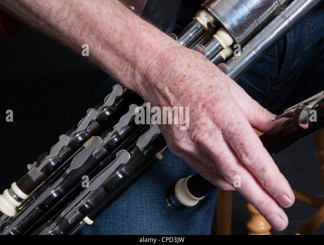 Wrist On Regulator Of Uilleann Pipes, Irish Bag Pipes