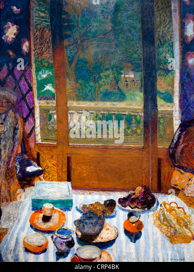Painting By Pierre Bonnard Stockfotos \\u0026 Painting By Pierre Bonnard Esszimmer  1930