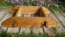 Socle de la ruche en mélèze