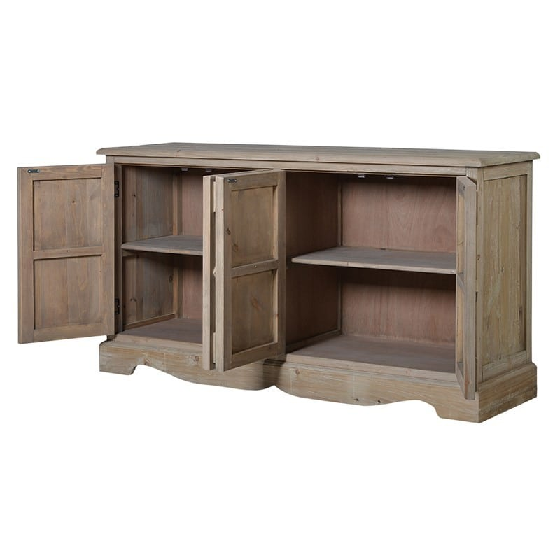 Vintage Sideboard Yorkshire Rustic Wooden Sideboard Furniture - La Maison Chic Luxury