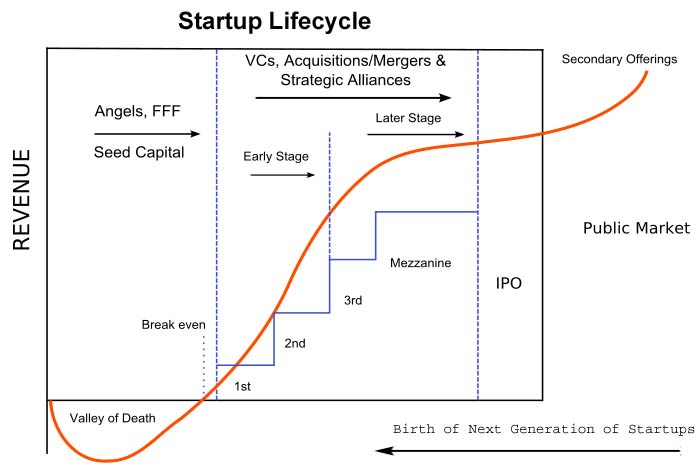 The Startup Life Cycle. Source: