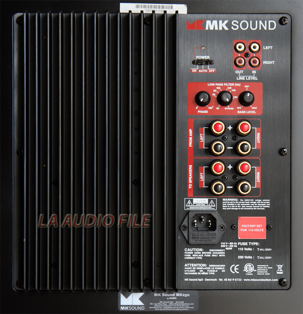 Amplifier Power Product Review - Mk Sound 950 Speaker System