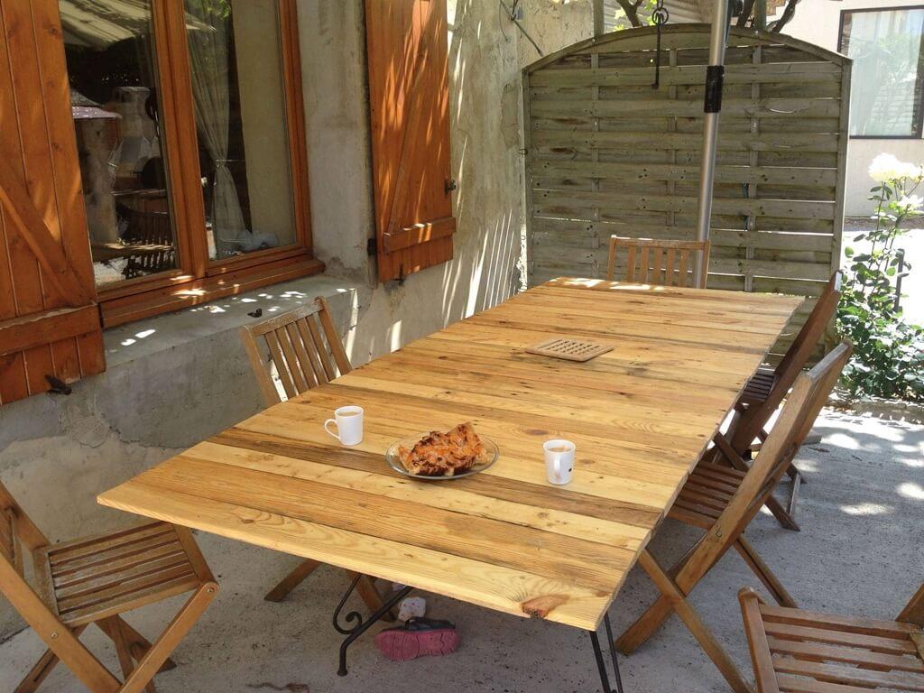 Plan Salon De Jardin En Palette Bois