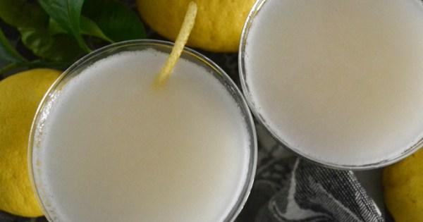 Sgroppino - Italian Lemon Cocktail – La Bella Sorella