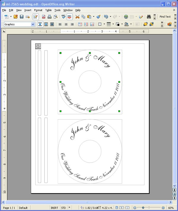 avery cd label template 5981cdtemplate - Top Label Maker