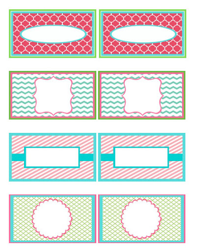 Soup Can Label Templates Printable Label Templates - blank label template