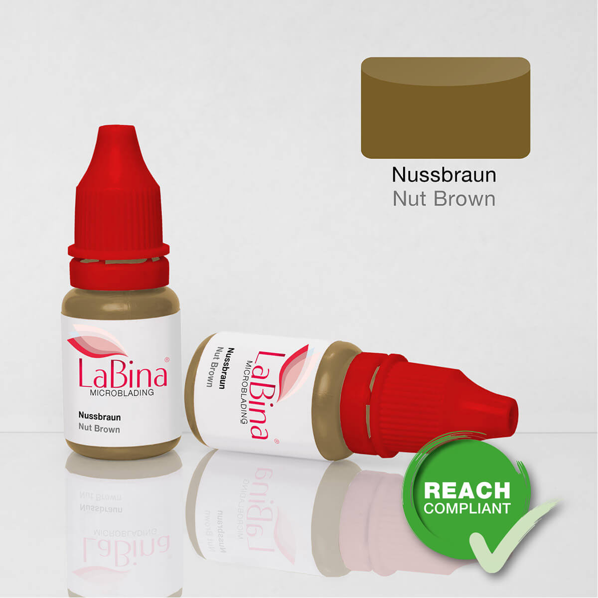 Farbe Nut Nussbraun Microblading Farbe Nut Brown Pigment Ink Mb