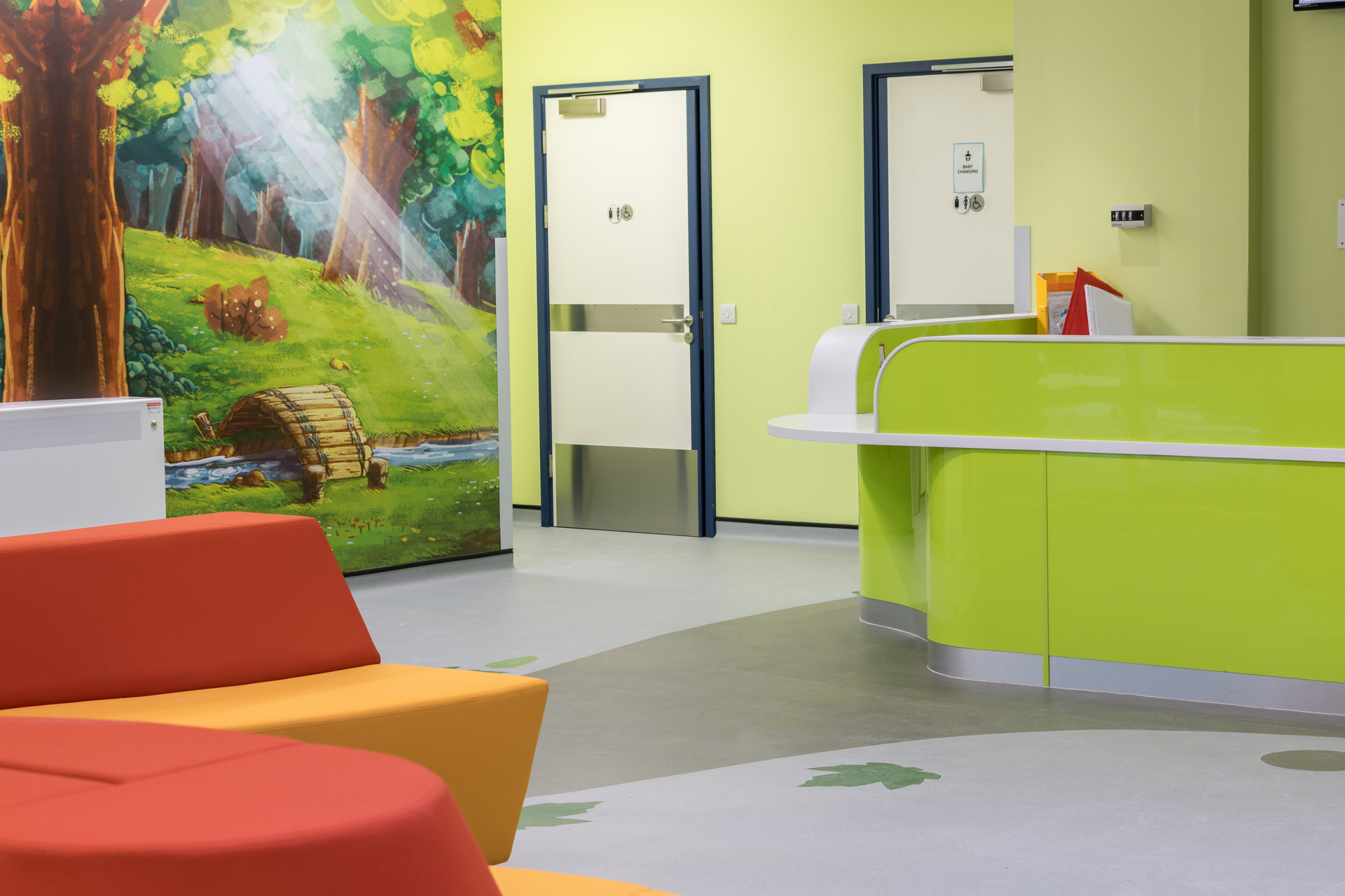Altro Flooring Brings Enchantment To New Childrens