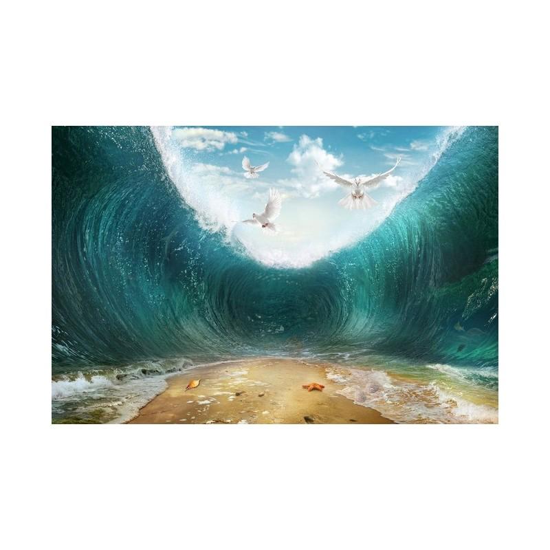 3d Birthday Wallpaper Tapisserie Paysage Oc 233 An Effet 3d La Temp 234 Te Tropicale