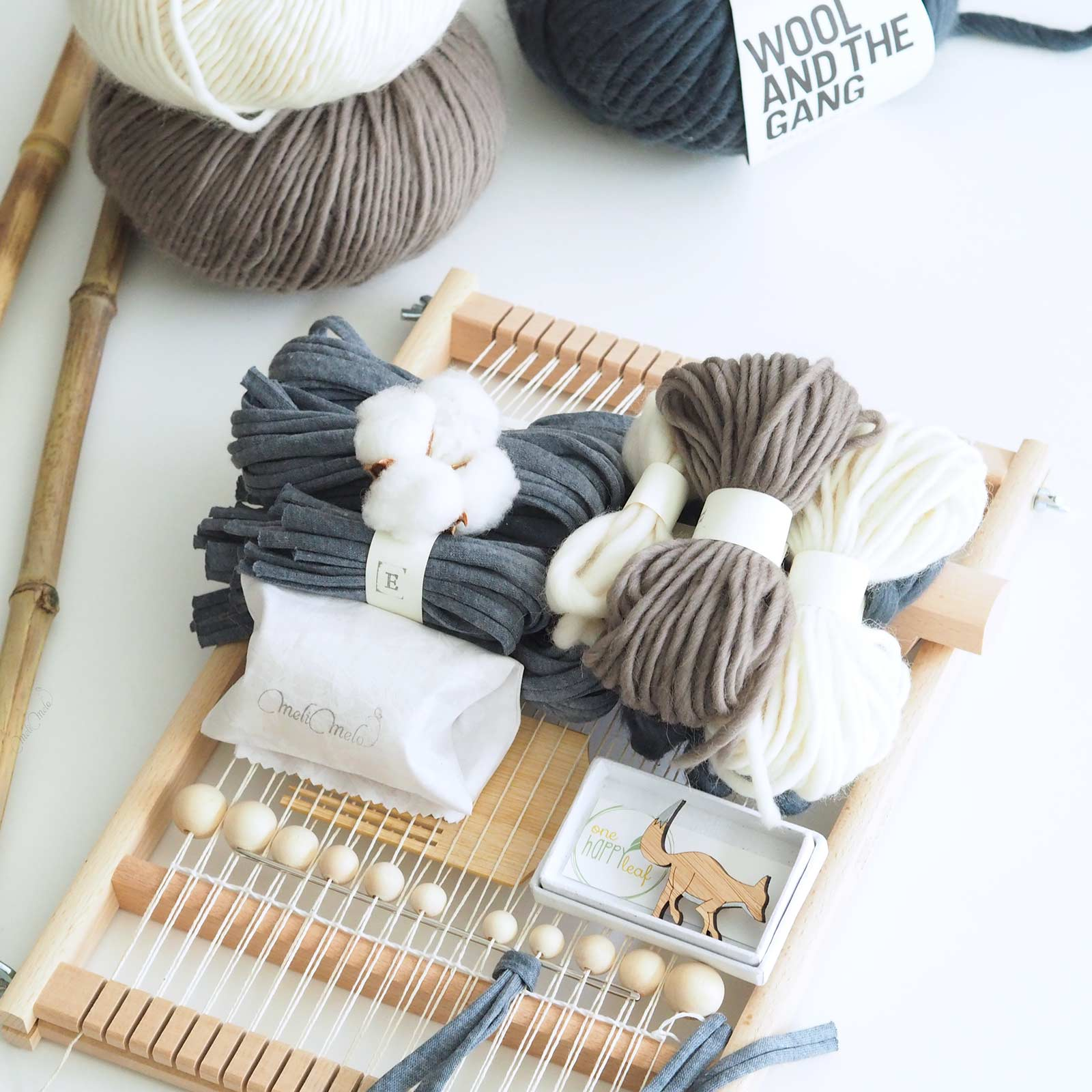 Tissage Diy Kit De Tissage Nº2 Diy Fleur De Coton Melimelo