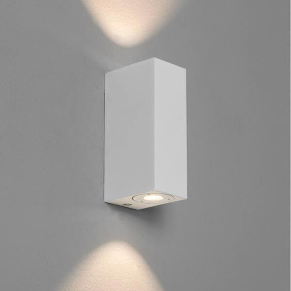 Applique Murale Exterieur Roger Pradier Applique Murale Led Up & Down Bloc Blanche Astro Lighting