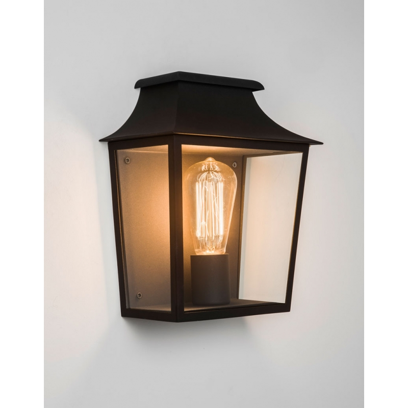 Applique Murale Exterieur Roger Pradier Demi-applique Murale Richmond Noire Astro Lighting