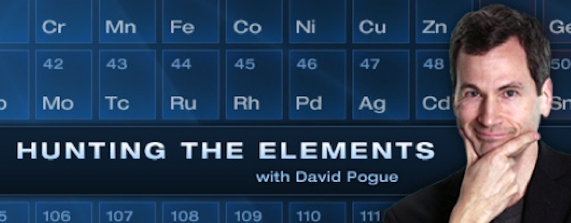 "Episode 78 - ""Hunting the Elements"" and other resources from NOVA"